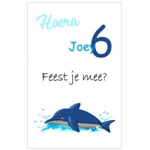 Uitnodiging dolfijn